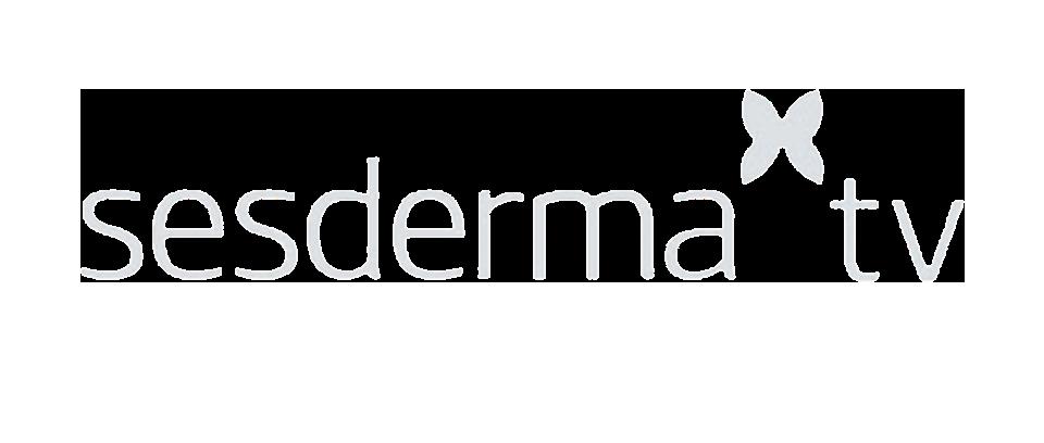 Logo Sesderma TV transparente